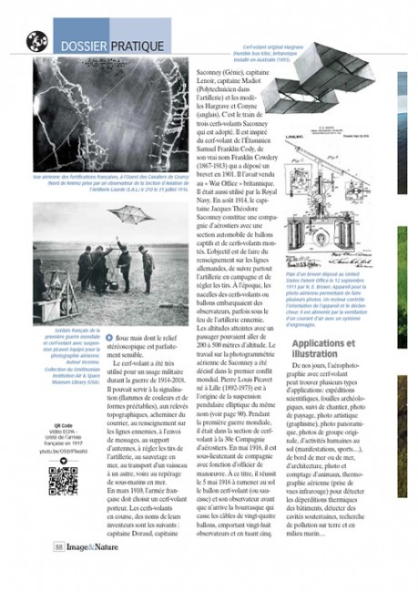 Page 2 article cerf-volant Image & Nature n°54