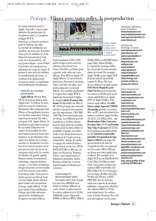 Article video 3 Image & Nature n°57 page 3
