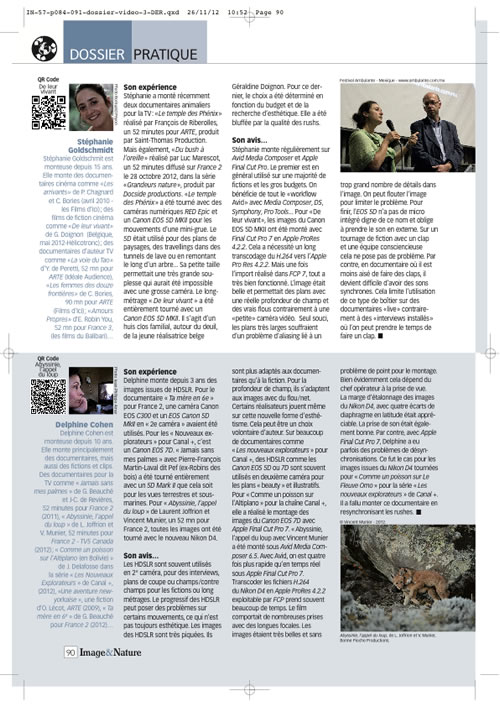 Article video 3 Image & Nature n°57 page 4