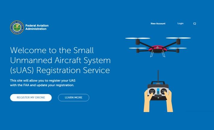 Immatriculation drones FAA