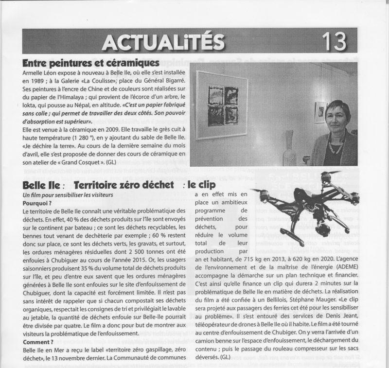 Page 13 de la Gazette de Belle-isle-en-mer n°410