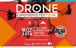 Affiche drone experience festival 2016