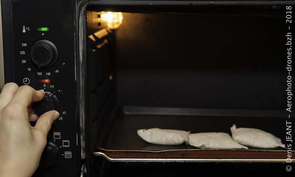 Régénérer du gel de silice avec un four traditionnel